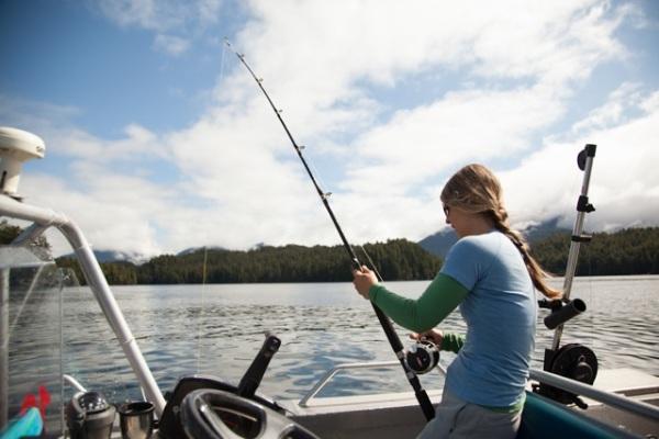Marie-Soleil Fishing