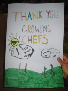 Thank you Growing Chefs!