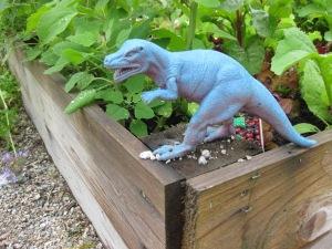 A prehistoric garden critter