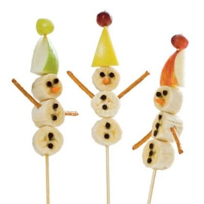 Banana-Snowmen