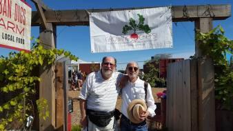 BillRichard at Growing Chefs Voulunteer party